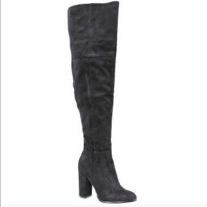Michael Antonio thigh high boots size 8